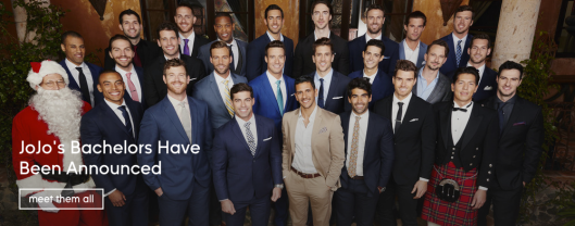 jojo's men bachelorette cast