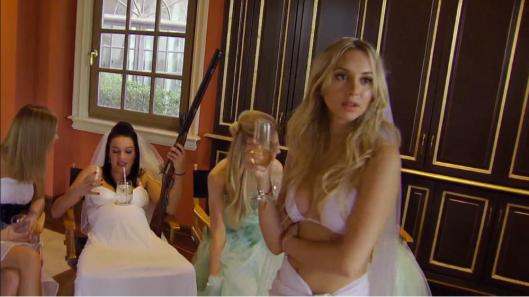 the bachelor alexis shotgun wedding