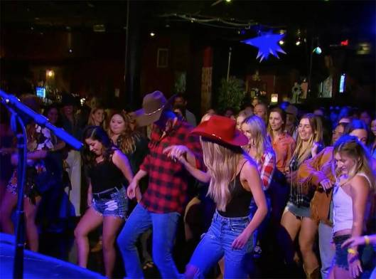 the bachelor peter and victoria p line dancing date
