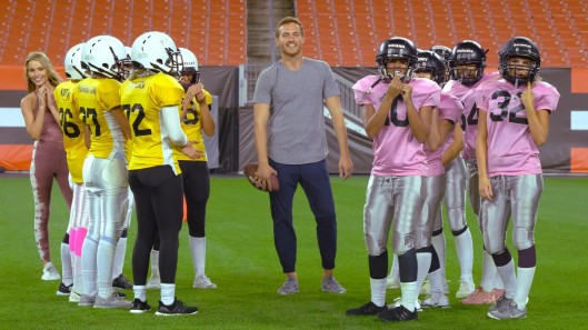The Bachelor Peter Cleveland football date